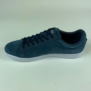 Lacoste Mens Carnaby Evo 317 1 SPM NUBUCK Trainers